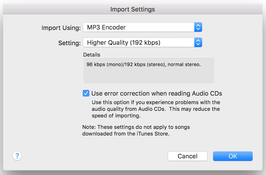 How to convert music song track audio file formats in iTunes