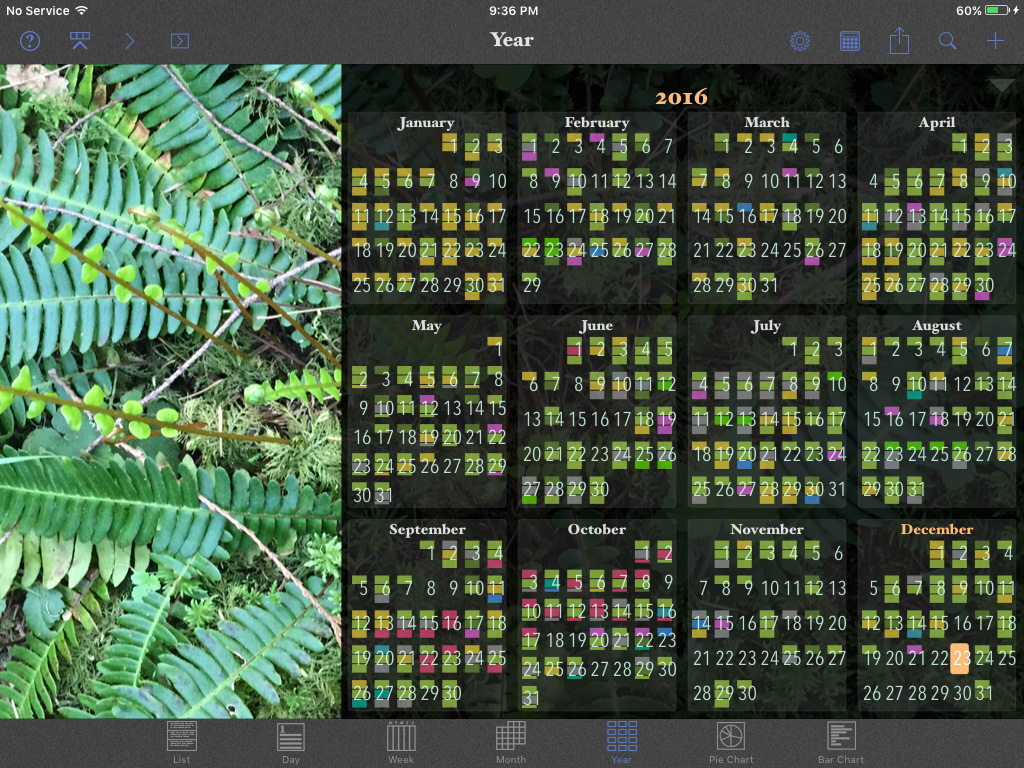 How to make a photo calendar on iPad or iPhone with the