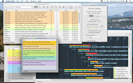 TaskInsight for Mac OS X