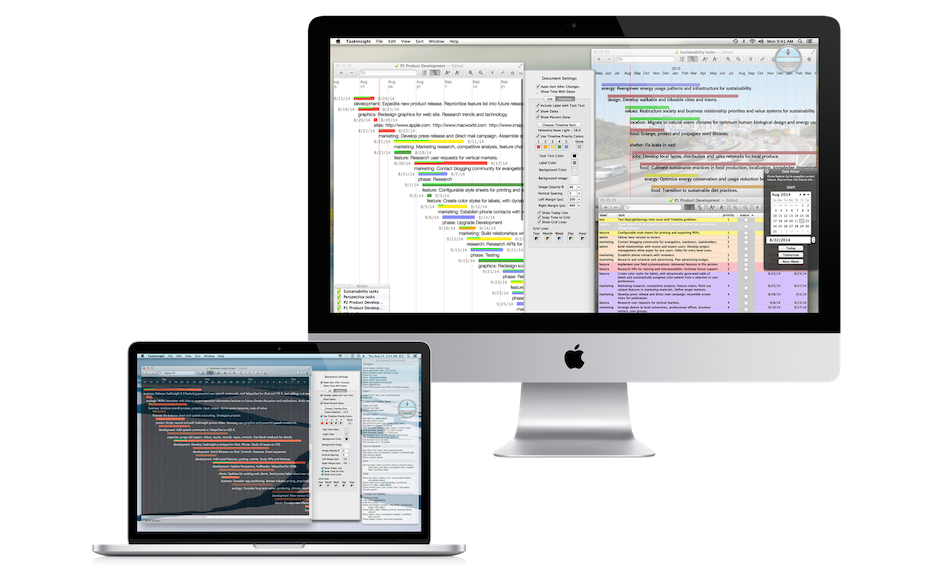 TaskInsight: Overview - for Mac OS X: Project Task