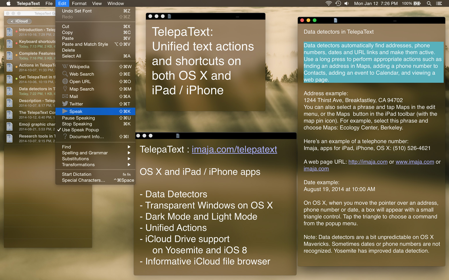 Press Release: TelepaText - new text tool with unified actions on